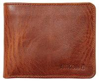 Nixon Stealth Slim Bi-fold Wallet - Brown Wash