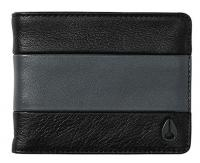 Nixon Cape Bi-fold ID Wallet - Black / Charcoal