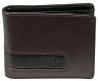 Nixon Showoff Bi-fold Wallet - Brown