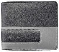 Nixon Showoff Bi-fold Wallet - Black / Dark Grey