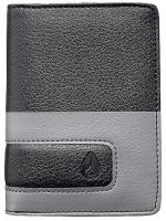 Nixon Showup Card Wallet - Black / Dark Grey