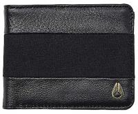 Nixon Escape Bi-fold Clip Wallet - Black / Black