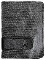 Nixon Showup Card Wallet - Black Denim