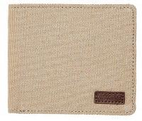 Nixon Atlas Canvas Bi-fold Wallet - Khaki