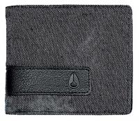 Nixon Showoff Bi-fold Wallet - Black Denim