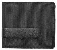 Nixon Showdown Bi-fold Wallet - All Black Nylon