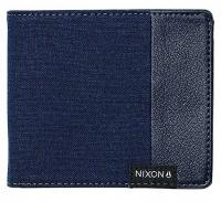 Nixon Showdown Canvas Bi-fold Wallet - Navy