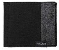 Nixon Showdown Canvas Bi-fold Wallet - Black