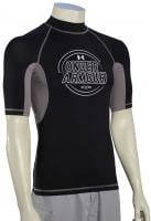 Under Armour Ames SS Rash Guard - Black