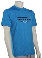 Oakley Surf Tee SS Surf Shirt - Pacific Blue