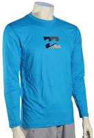 Billabong Chronicle LS Surf Shirt - New Blue