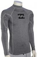 Billabong All Day Wave LS Rash Guard - Grey Heather