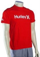 Hurley One & Only Surf Shirt - Redline
