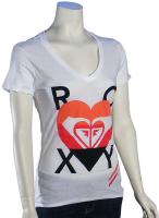 Roxy In The Heart T-Shirt - White