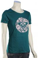 Roxy Island Cove Heart To Women's T-Shirt - Storm