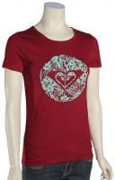 Roxy Island Cove Heart To Women's T-Shirt - Burgundy