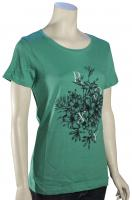 Roxy Basic Crew Bunch Women's T-Shirt - Creme de Menthe