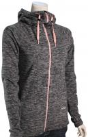 Roxy Electric Feeling Fleece Zip Hoody - Anthracite