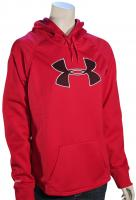 Under Armour Rival Women's Hoody - Fury / Ox Blood / Ivory