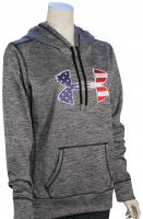 Under Armour Big Flag Logo Women's Hoody - Black