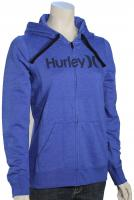 Hurley One and Only Icon Women's Zip Hoody - Heather Racer Blue