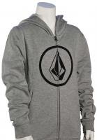 Volcom Boy's Stone Zip Hoody - Heather Grey