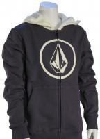 Volcom Boy's Stone Zip Hoody - Midnight Blue