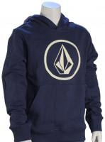 Volcom Boy's Stone Pullover Hoody - Matured Blue