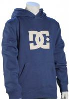 DC Boy's Star Pullover Fleece Hoody - Washed Indigo
