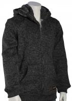 Quiksilver Boy's Keller Zip Fleece Hoody - Tarmac Heather