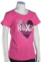 Roxy Girl Cut and Paste T-Shirt - Pow Wow Pink