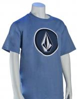 Volcom Boy's Cognito T-Shirt - Blue Bird Blue