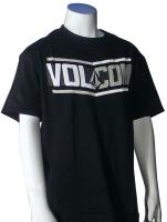 Volcom Boys Side Bar T-Shirt - Black