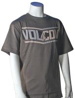Volcom Boys Side Bar T-Shirt - Army