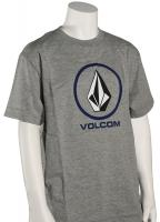 Volcom Boy's Circle Staple T-Shirt - Heather Grey