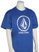 Volcom Boy's Lino Stone T-Shirt - True Blue