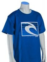 Rip Curl Solar Energy Boys T-Shirt - Blue
