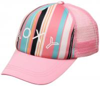 Roxy Girl's Sweet Emotions Hat - Prism Pink / Bilbao Stripes