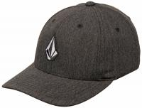 Volcom Boy's Full Stone Hat - Charcoal Heather