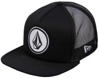 Volcom Boy's Coast Cheese Trucker Hat - Black