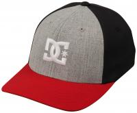 DC Boy's Cap Star Hat - Grey Heather