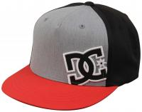 DC Boy's Heard Ya Hat - Chili Pepper / Grey Heather