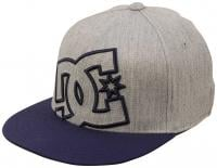 DC Boy's Ya Heard Hat - Dark Indigo / Heather Grey