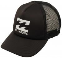 Billabong Boy's Podium Trucker Hat - Black / White