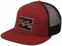 Billabong Boy's All Day Trucker Hat - Brick