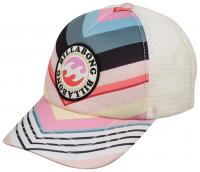 Billabong Girl's Shenanigans Trucker Hat - Classic Multi