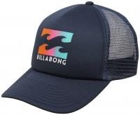 Billabong Boy's Podium Trucker Hat - Navy Coral