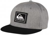 Quiksilver Boy's Swivelocity Snapback Hat - Medium Grey Heather