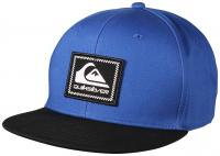 Quiksilver Boy's Swivelocity Snapback Hat - Nebulas Blue