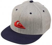Quiksilver Boy's Stuckles Hat - Dark Grey Heather